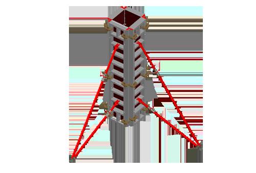 вертикальный элемент опалубки